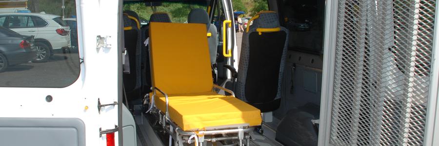 Перевозка инвалидов в колясках