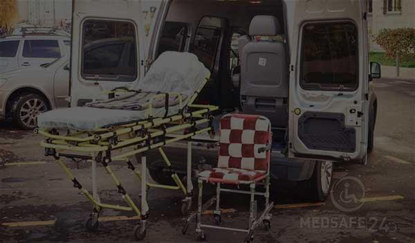 Перевозка лежачих больных аэропорт