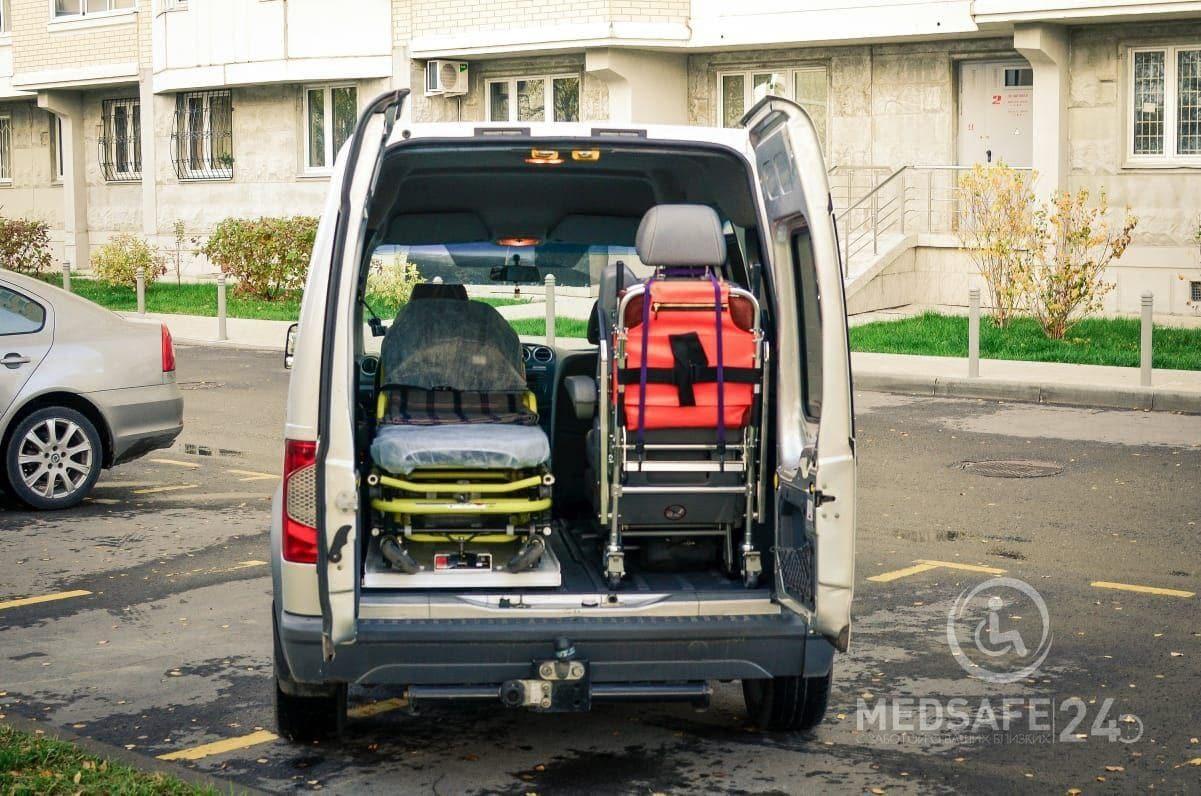 Перевозка больных о компании medsafe24