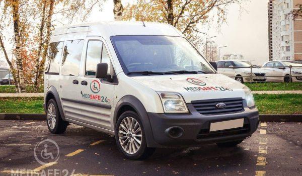 Оснащение автомобиля для транспортировки лежачих больных